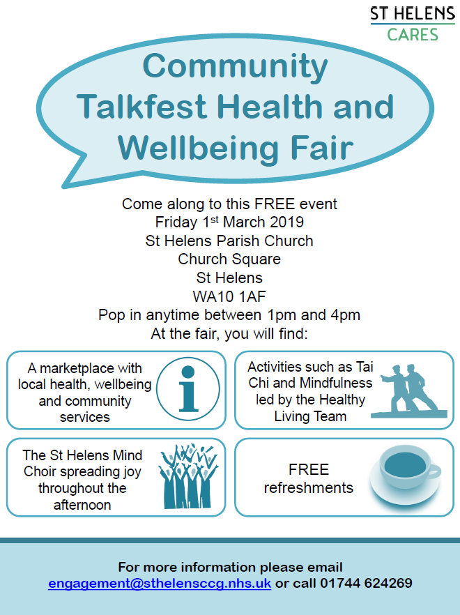 Talkfest Health and Wellbeing Fair