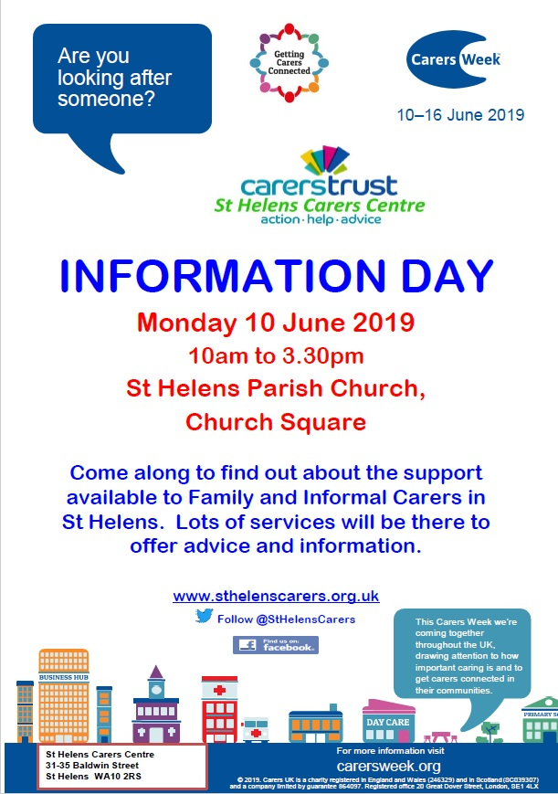 Carers Week Information Day